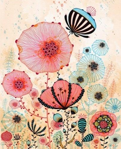 Poppies - yellena james