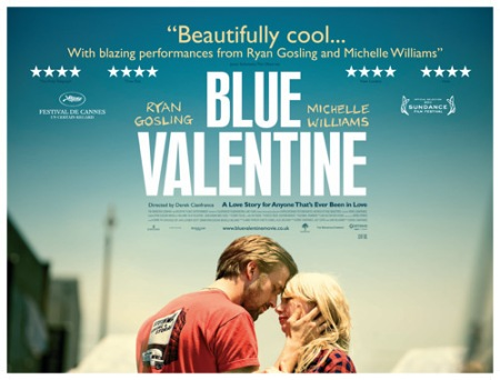 blue valentine movie poster on review