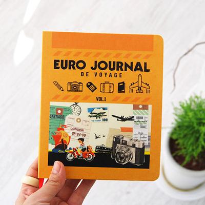 agenda euro journal - tapa
