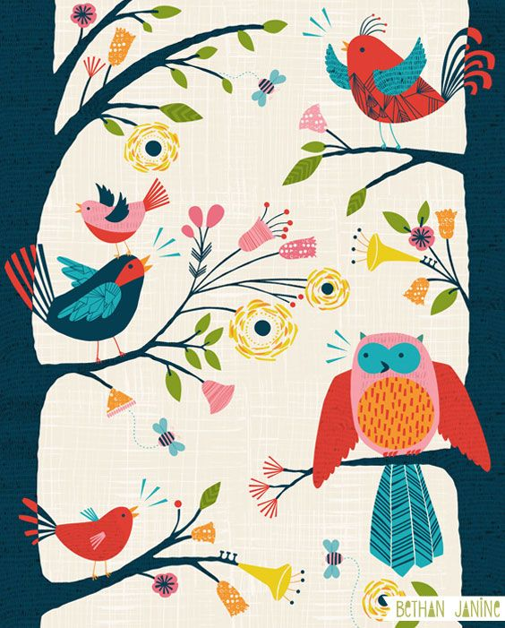 'Bird Song' by Bethan Janine